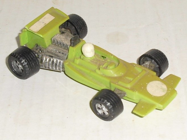 "Vintage FUNMATE Formula 1 plastic Race Car 4"" long made in Japan"
