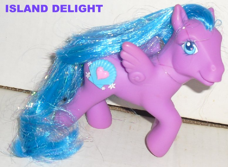 G3 My Little Pony MLP Pegasus ISLAND DELIGHT