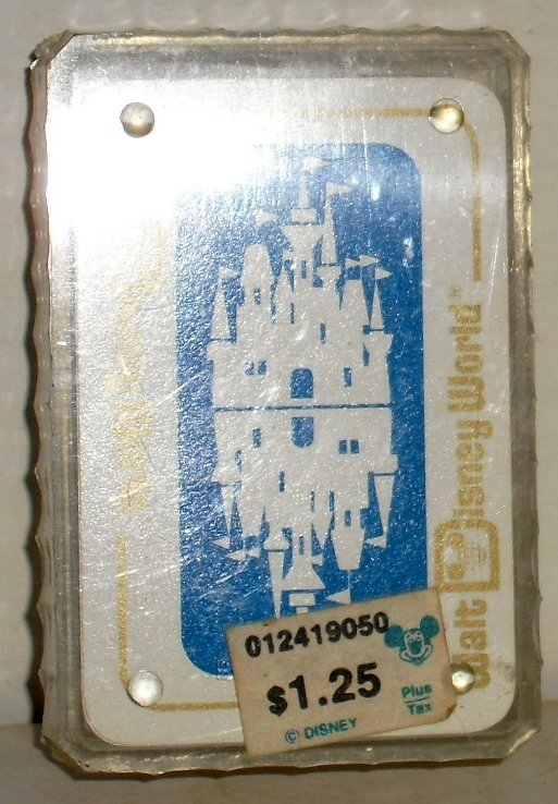 "Deck WORLD DISNEY WORLD Mini playing cards 1.5""x2.25"""
