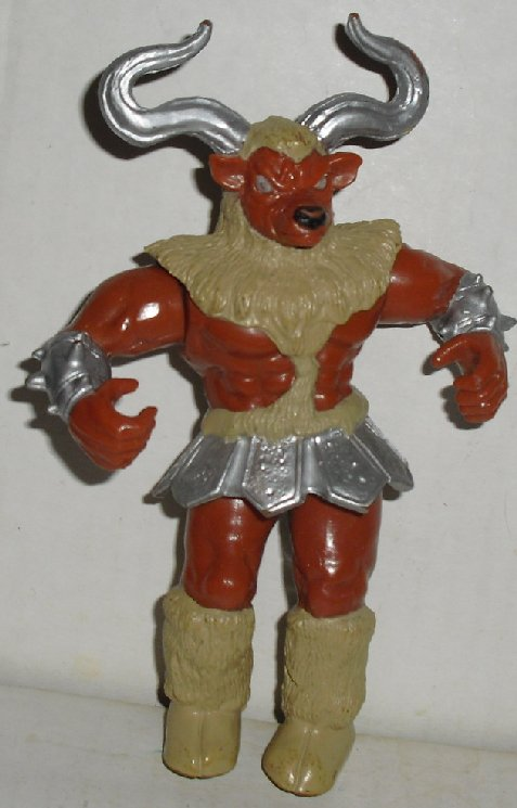 "Power Rangers MINOTAUR Alien Action Figure 5.5"", 1994 Bandai"