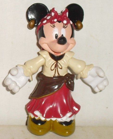 "MINNIE MOUSE PVC Figure GYPSY 2.5"", Disney"