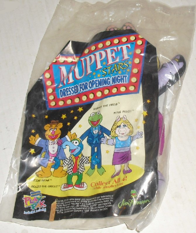 MUPPETS Miss Piggy dressed opening night Blockbuster MIP