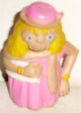 ET E.T Extra Terrestrial PVC figure in drag disguise 2.25""