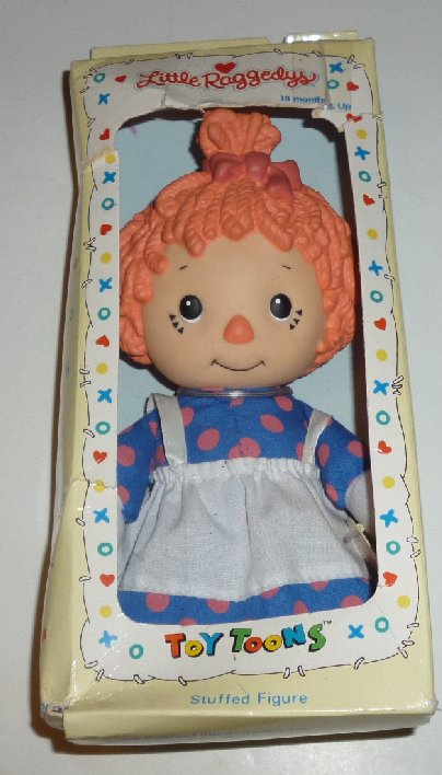 "LITTLE RAGGEDY ANN doll 7"" 1990 Macmillan Mint in Box"
