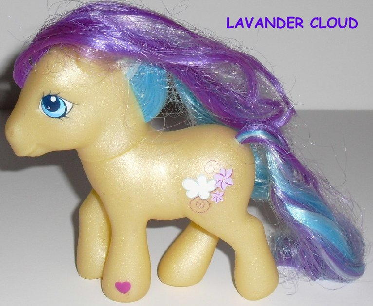 G3 Hasbro My Little Pony MLP LAVENDER CLOUD