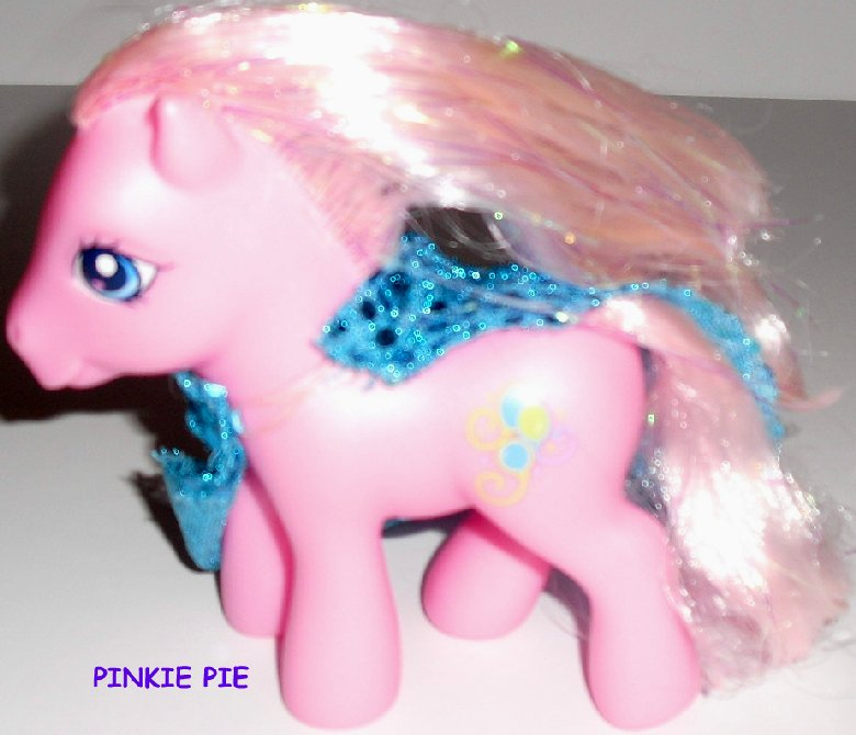 G3 Hasbro My Little Pony MLP PINKIE PIE with cape