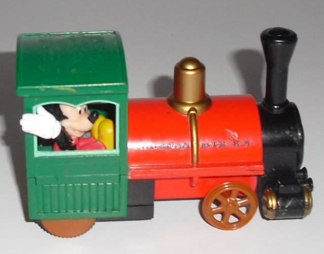"MICKEY MOUSE in locomotive train CAR 3.75"", Disney"