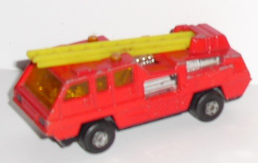 Vintage LESNEY Matchbox no 22 BLAZE BUSTER Firetruck toy Car