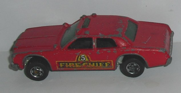Vintage HOT WHEELS HotWheels toy Car 1977 FIRE CHIEF