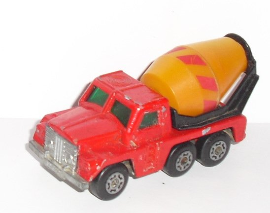 Vintage LESNEY Matchbox no 19 CEMENT TRUCK toy Car