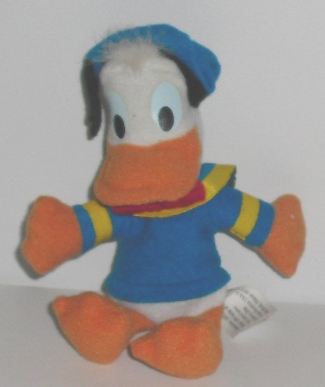 "Mini DONALD DUCK plush doll 5"", McD International McDonalds"