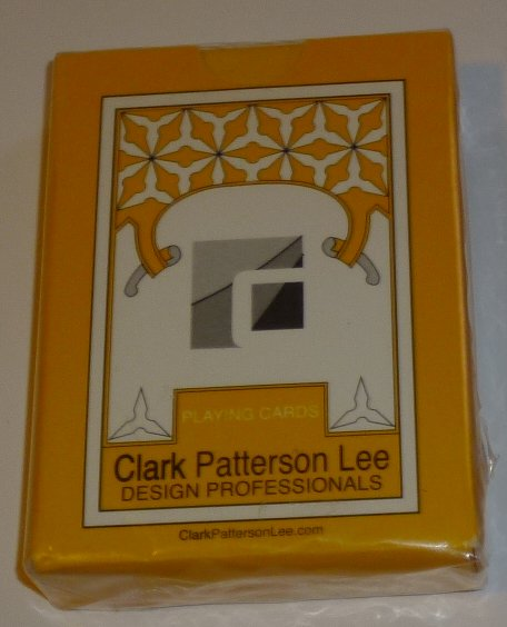 1 DECK playing cards CLARK PATTERSON LEE Design Professionals