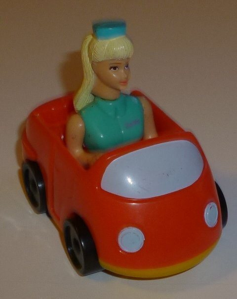 TOY STORY 2 McD BARBIE Tour Guide in car, Disney McDonalds