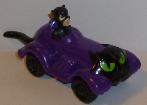 1991 BATMAN Catwoman in Car toy, McDonalds