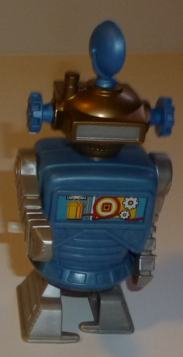 Burger King wind up walking ROBOT Toy 4.75""