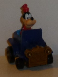 "GOOFY in pullback roadster car 2"", Disney"