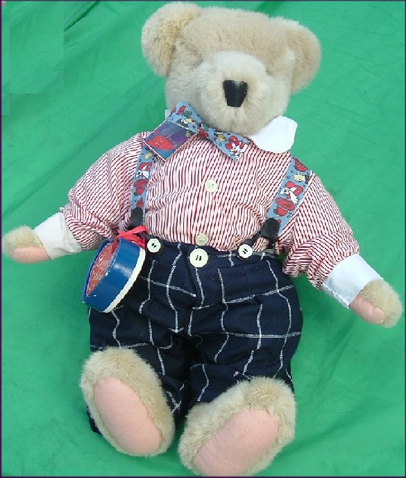 Muffy Vanderbear Plush CORNELIUS Bear PAINT TOWN RED - $45.00 ...