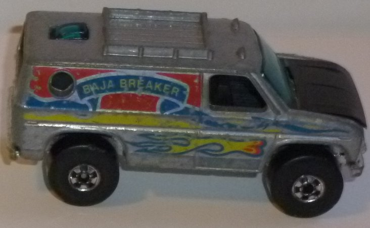 Vintage 1977 Hot Wheels toy car BAJA BREAKER Van