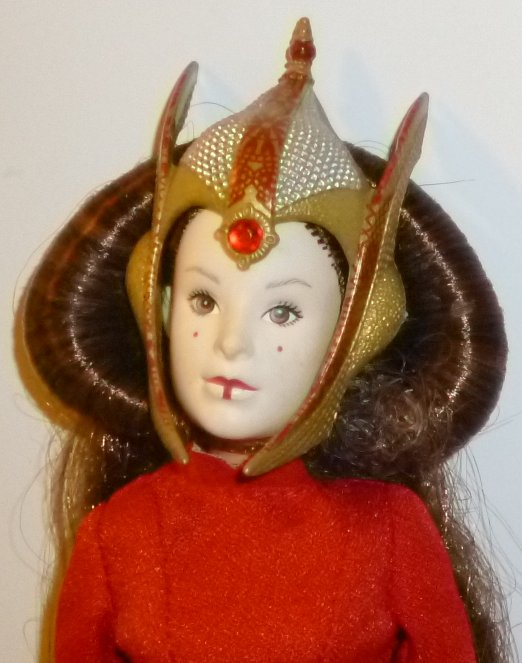 Star Wars QUEEN AMIDALA Doll dressed with accessories