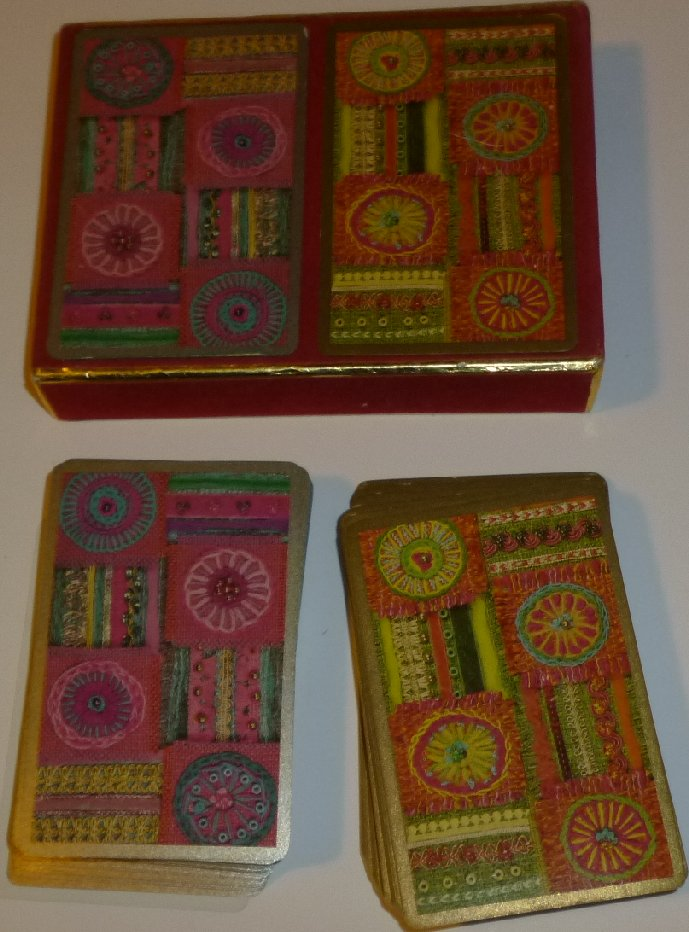 Vintage Congress BROADWAY IGNITION CO double decks playing cards