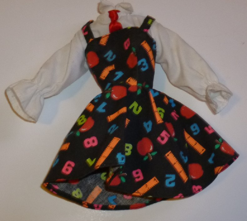 BARBIE doll Fashion Teacher DRESS