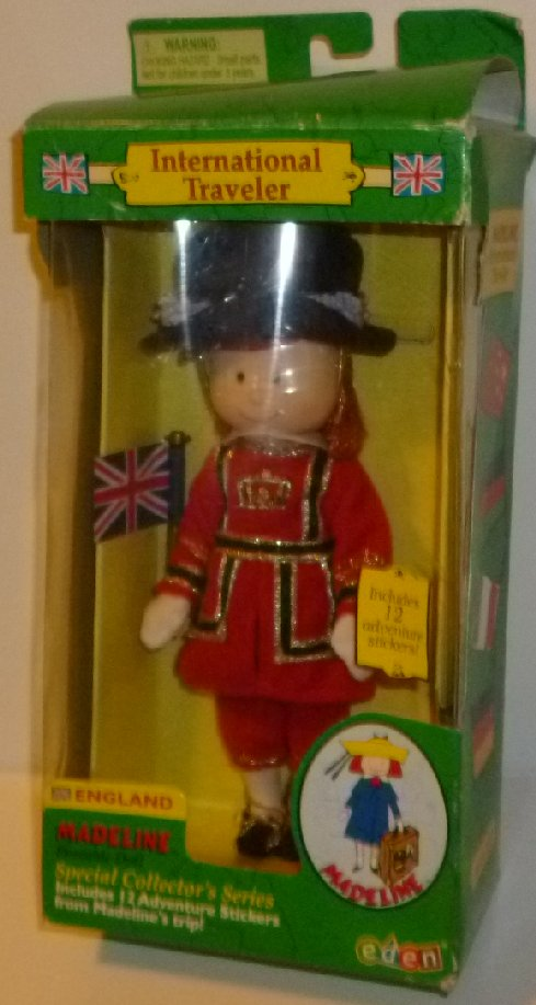 MADELINE Doll International Traveler ENGLAND MIB