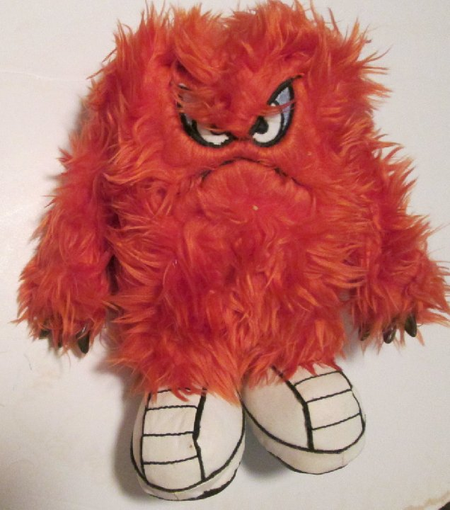 1995 Warner Bros Studio Looney Tunes Plush GOSSAMER Monster doll