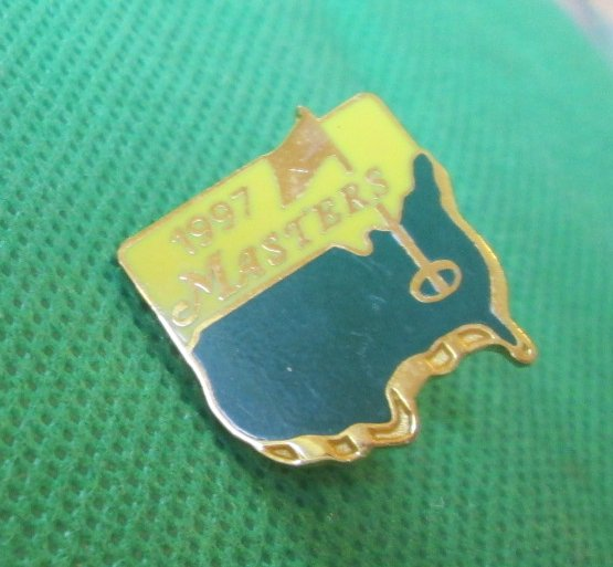 1997 MASTERS Tournament National Golf Augusta Commemorative pin