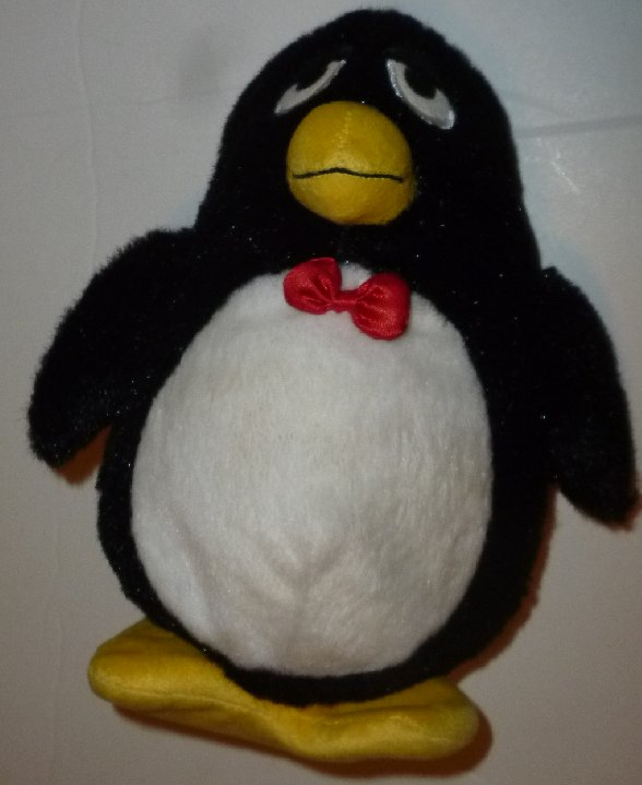 "TOY STORY plush WHEEZY Penguin Squeak squeaky doll 8"", Disney"