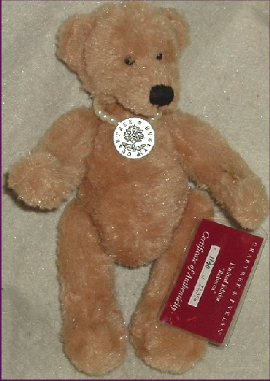 CRABTREE & EVELYN Limited Ed Rebecca Plush Teddy Bear