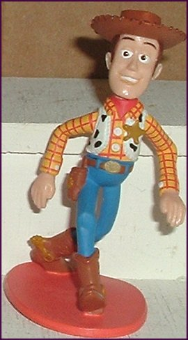 "TOY STORY Woody Sheriff PVC Figure 3"", Disney"