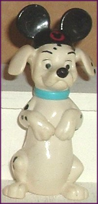 101 Dalmation Mouse Ears FIDGET Dog McD Figure McDonald