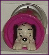 101 Dalmation Dog in Paint Can McD Figure, McDonalds