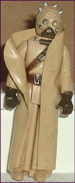 Vintage STAR WARS Action Figure TUSKIN RAIDER