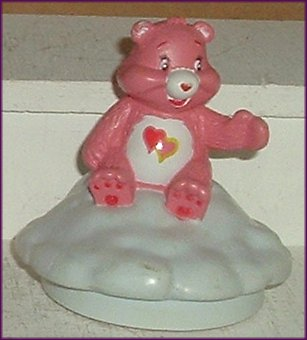 Care Bears LOVE A LOT PVC Figure Stamper 3""