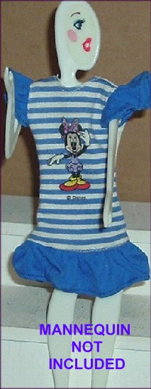 BARBIE Doll Fashion Clothes MINNIE MOUSE Dress