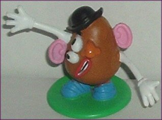 "Toy Story MR POTATO HEAD PVC Figure 1.75"", Disney"
