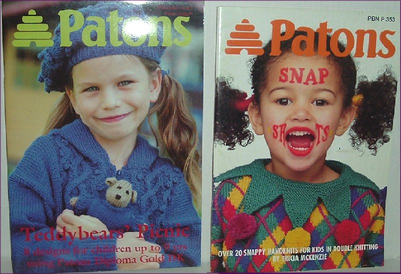 The Black Sheep Ltd Patons Pattern Books