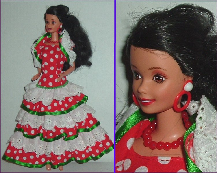 CE BARBIE Doll DOTW Cinco de Mayo - Click Image to Close