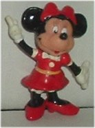 MINNIE MOUSE PVC Figure 2 in, Walt Disney Prod