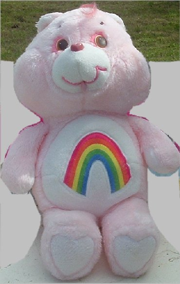 Vintage Big Care Bears Plush CHEER Bear 17""
