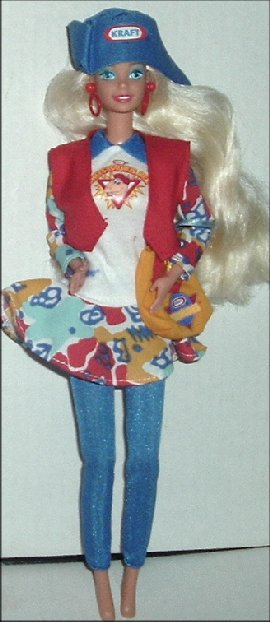 BARBIE Doll Blonde Dressed KRAFT Treasures Special ED