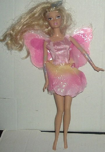 BARBIE Doll ELINA Fairytopia BUTTERFLY Wings lights