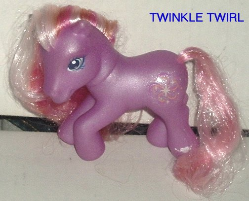 G3 My Little Pony MLP TWINKLE TWIRL