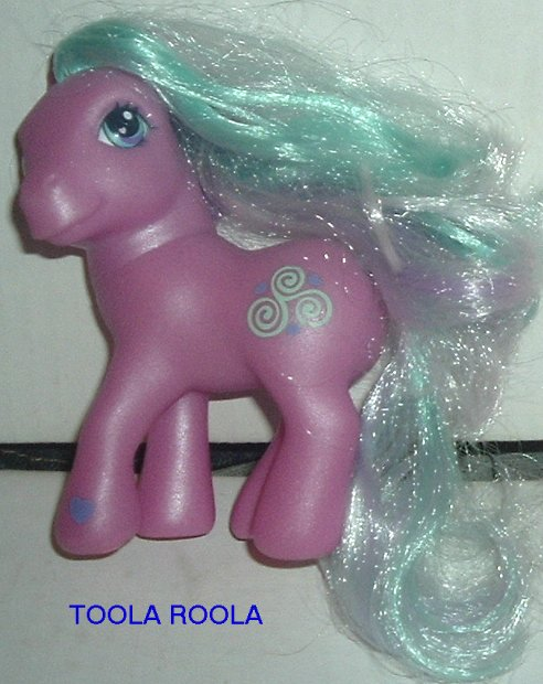 G3 My Little Pony MLP TOOLA ROOLA