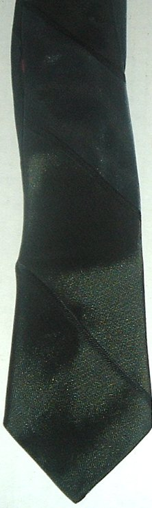 Vintage SEARS thin skinny Rockabilly Swing Neck Tie
