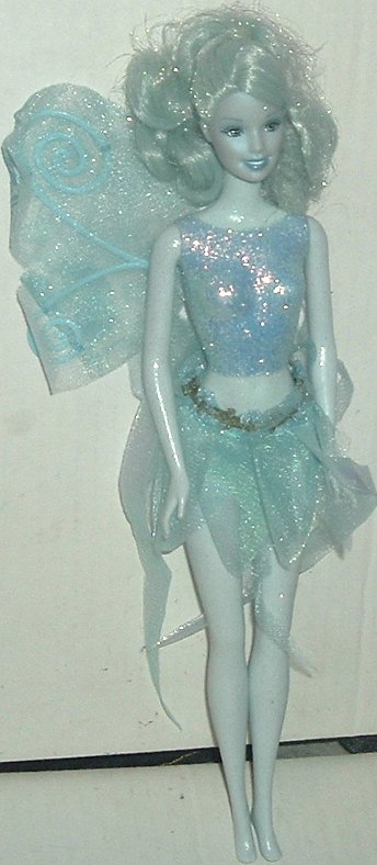 BARBIE Doll FAIRY Blue body & hair dressed