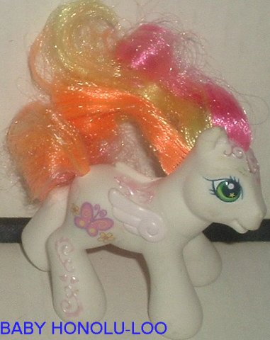 G3 Hasbro My Little Pony MLP Baby HONOLU-LOO