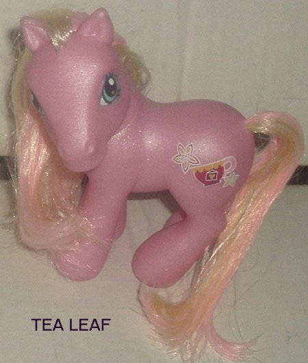 G3 My Little Pony MLP TEA LEAF