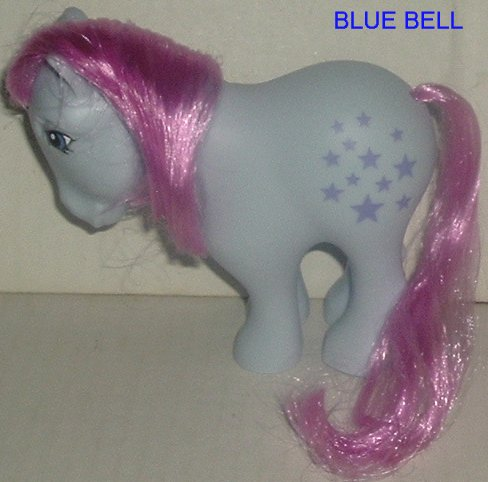 G3 My Little Pony MLP BLUE BELL 2007 RETRO